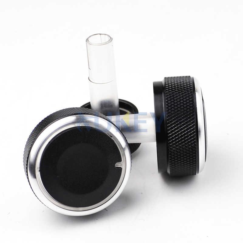 صالح لل VW باسات B5 بورا جولف 4 MK4 مقبض مفتاح التشغيل سخان التحكم في المناخ أزرار بطلب A/C غطاء الملحقات