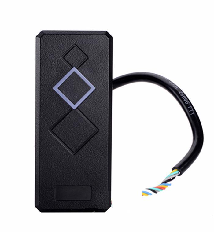 Mini 125 KHz Wiegand 26 Pour Porte de Contrôle D'accès RFID Carte de Proximité ID EM Lecteur Couleur Noir