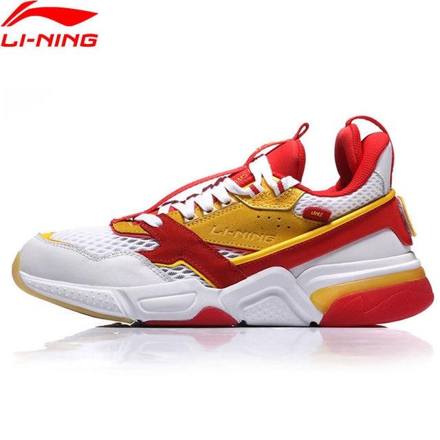 Li-Ning PFW Men 001 R-I The Trend Walking Shoes Wearble LiNing Sport Shoes Comfort Sneakers AGLN227 YXB199