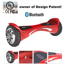 8 inch SUV 2 Wheel Smart Balance Electric Scooter Hoverboard With Dual Bluetooth Speaker Motorized Standing Drift Board