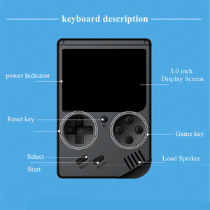Image 2 - Video Game Console 8 Bit Retro Mini Pocket Handheld Game Player Built in 168 Classic Games Best Gift for Child Nostalgic Player