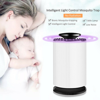 USB Fashion Mosquito Lamp for LED Moths Killer for Flying Insects Lamp Insect Trap Mosquito Light Voiceless Zapper Electric tote bag