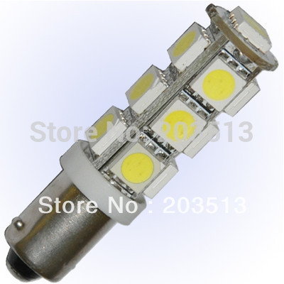400pcs/lot WHolesles car led light G14 13SMD BA9S13 ledS smd 5050 light Free shipping