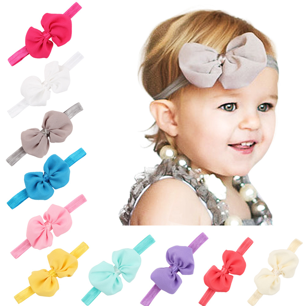 1 Piece MAYA STEPAN Fashion Children Girls Bow Hair Head Band Headdress Baby Newborn Hair Rope Headband Headwear Headwrap