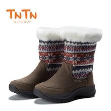 TNTN scarpe Da Trekking Impermeabili Donne Inverno Termico A Piedi Scarpe  Da Donna Stivali All aperto Caldo Impermeabile Scarpa . 17093d43142