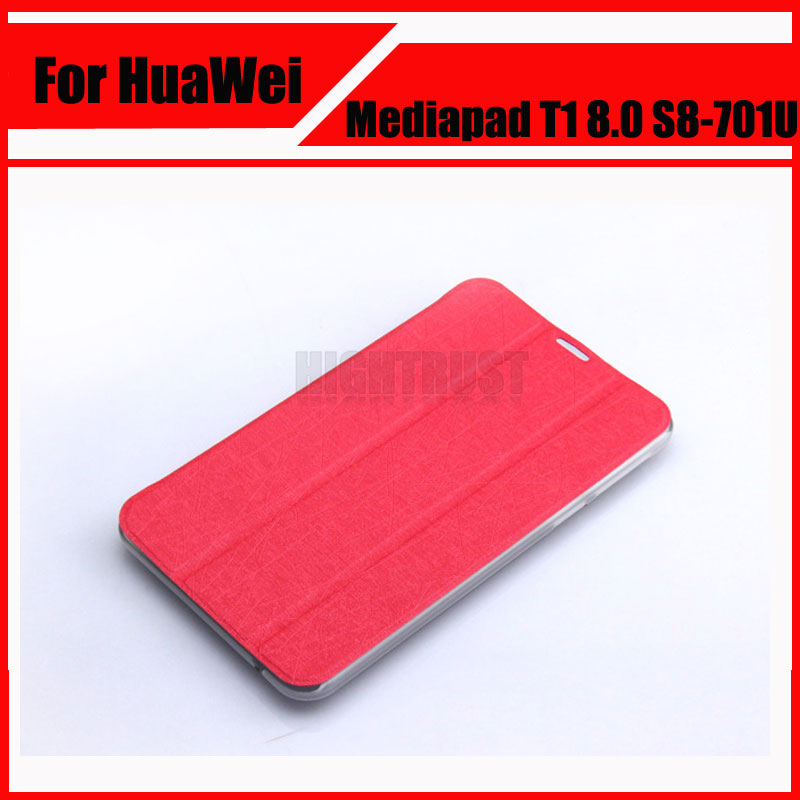3 in 1 New PU Leather Case Cover For Huawei Mediapad Honor T1 8.0 S8-701U S8-701W S8 + Screen Film + Stylus cover case for huawei mediapad m3 youth lite 8 cpn w09 cpn al00 8 tablet protective cover skin free stylus free film
