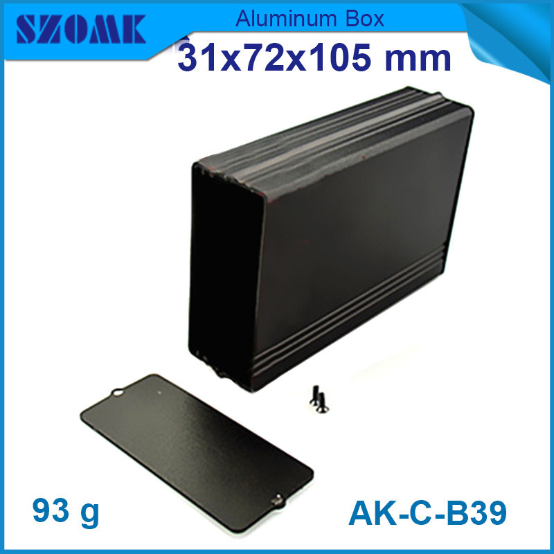 hot selling aluminum cabinet 4pcs instrument housing enclosure for electronics industry 31 72 105mm