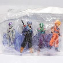 Dragon ball z figures 3th Goku figure chidren toy Christmas gift (4pcs/set)