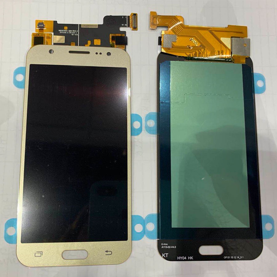 Tested Super <font><b>AMOLED</b></font> LCD For Samsung Galaxy J5 2015 <font><b>J500</b></font> J500F J500FN J500H J500M LCD Display Touch Screen Digitizer Assembly image