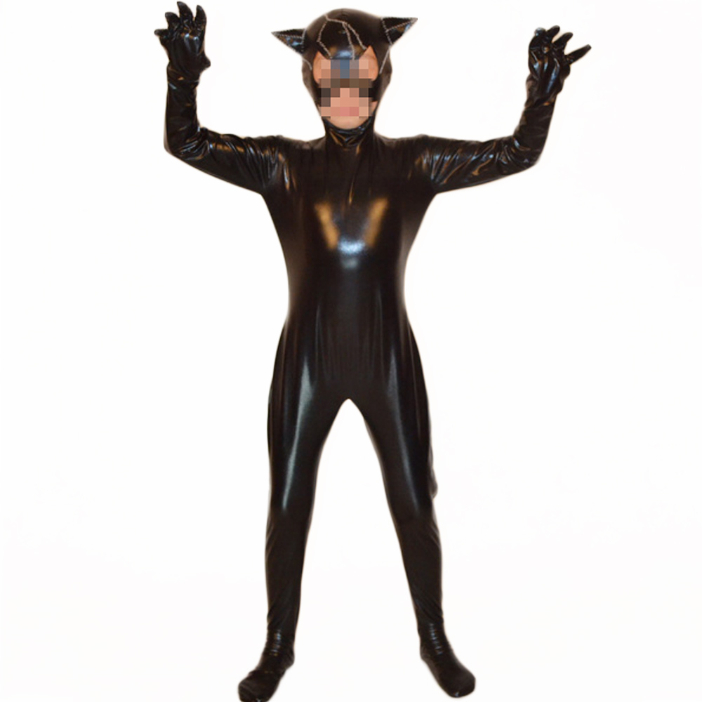 Black Panther Costume for Kids Marvel Superhero Costumes Tu0027Challa Black Panther Cosplay Full Body Zentai Open Eyes and Mouth-in Zentai from Novelty ...  sc 1 st  AliExpress.com & Black Panther Costume for Kids Marvel Superhero Costumes Tu0027Challa ...
