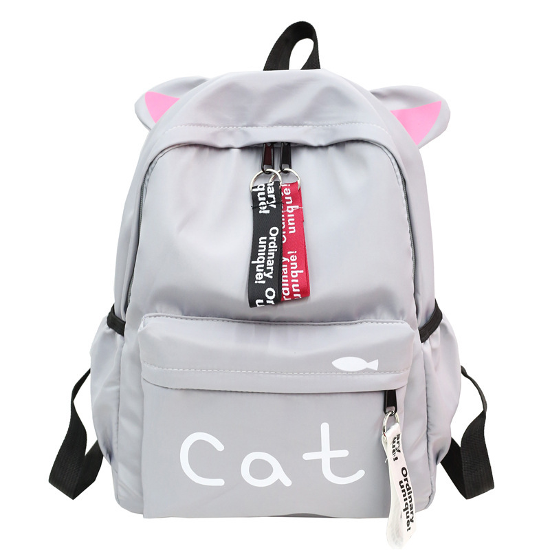 Woman A Bag Campus Bags School Student Backpacks Shoulders Female Backpack Cute Mochila Mujer Girls Bagpack Travel Back Pack in Backpacks from Luggage Bags