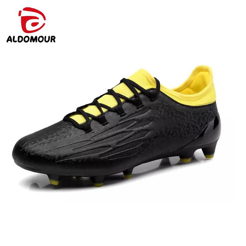ALDOMOUR Μπότες ποδοσφαίρου ποδοσφαίρου - Πάνινα παπούτσια - Φωτογραφία 3