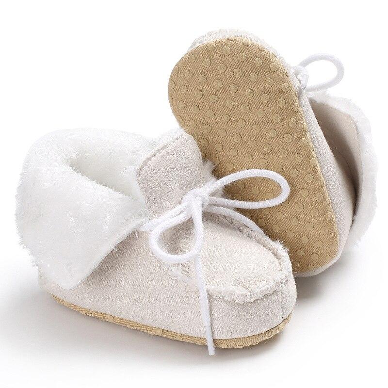 bebê botas de pele carneiro couro genuíno menino botas de bebê
