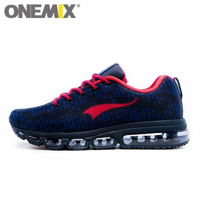 ONEMIX Men's Sport Running Shoes For Women Music Rhythm Sneakers Breathable Mesh Outdoor Athletic Shoe Freerun Men