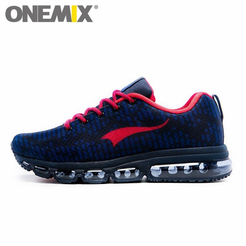 ONEMIX chaussures de Sport pour hommes chaussures de course pour femmes musique rythme baskets respirant maille extérieure chaussure de Sport Freerun hommes