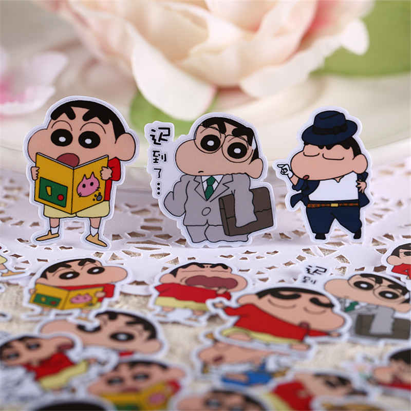 35 PCS Cartoon Naughty Fashion Paper Stickers Crafts And Scrapbooking Stickers Kids Toys Book Decorative Sticker DIY Stationery