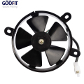 GOOFIT 3 Mounting Holes Radiator Fan Parts for 200cc 250cc Dog Water-cooled ATV Dirt Bike Go Kart F038-015