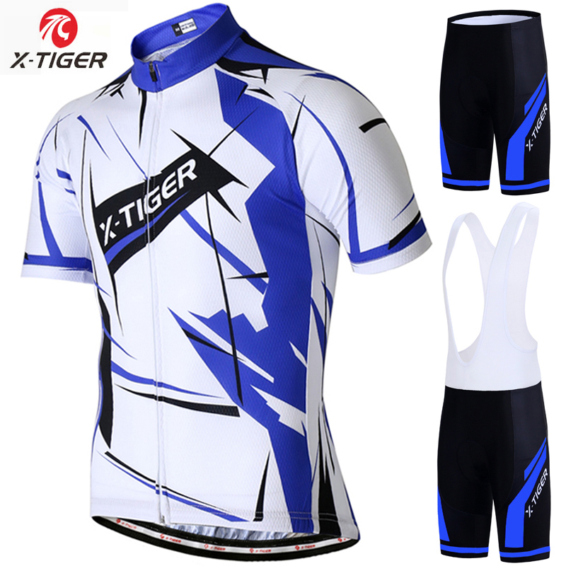 X Tiger Summer Pro Cycling Jersey Set Racing Bicycle Clothing Man Maillot  Ropa Ciclismo MTB Bike Clothing Sportswear Cycling Set-in Cycling Sets from  Sports ... bf88ea393