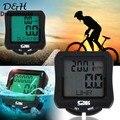 2016 New Waterproof LCD Cycle Bicycle Bike Computer Speedometer Odometer BackLight