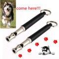 Ultrasónico perro entrenamiento silbato ajustable sonido silencio clave cadena 9 cm estilo de moda perro producto para mascotas perro entrenador
