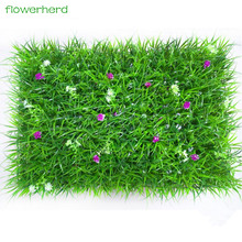 40x60cm Artificial Plastic Milan Grass Plants Wall Lawns as Hanging Greenery Decoration