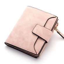 Women Wallet Hasp Zipper Brand Wallets Female Coins Purse PU Leather Ladies Money Bag Candy Color Girl Card Holder Clutch Casual стоимость