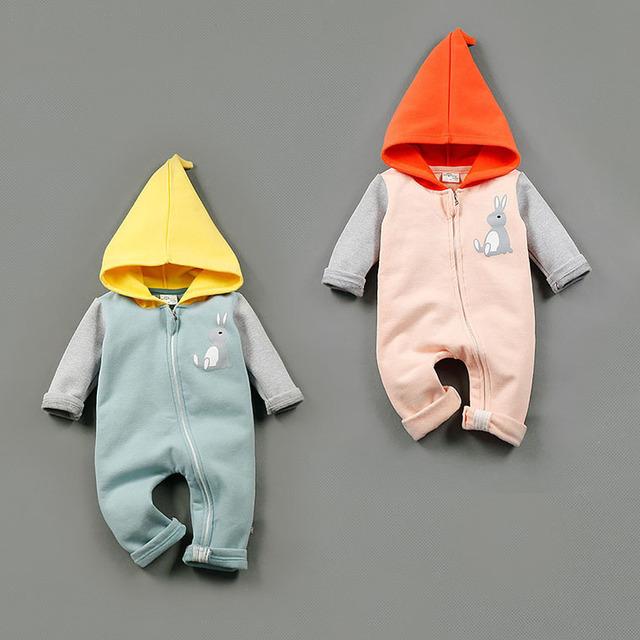Primavera/Outono/Inverno Macacão de Bebê Roupas de bebê Recém-nascido Do Velo Do Bebê Da Menina do Menino Macacão Roupas Natal Outwear Escalada Roupas