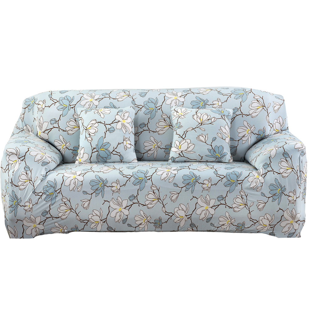 Slipcovers Printed Sofa Cover Polyester Spandex Slipcover Big Couch Cover Loveseat Sofa Funiture Cover Case 1/2/3-seater