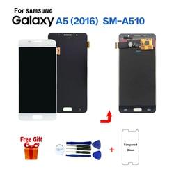 TFT do SAMSUNG Galaxy A5 2016 A510 SM A510F zamiennik ekranu wyświetlacza lcd do Samsung SM A510FD A510M A5100 wyświetlacz lcd w Ekrany LCD do tel. komórkowych od Telefony komórkowe i telekomunikacja na