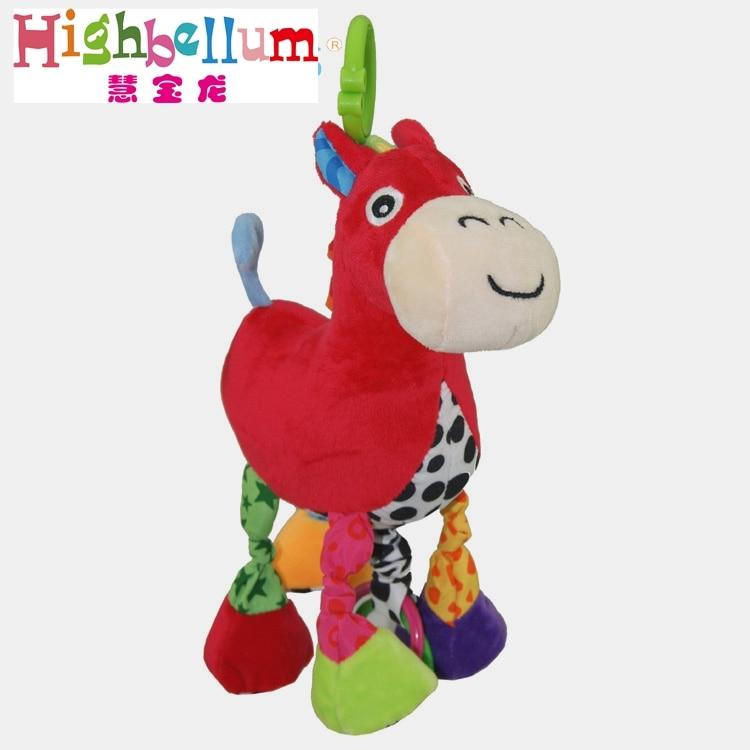 Baby Kids Plush Rattle Toys Կրթական Երաժշտական - Խաղալիքներ նորածինների համար - Լուսանկար 6