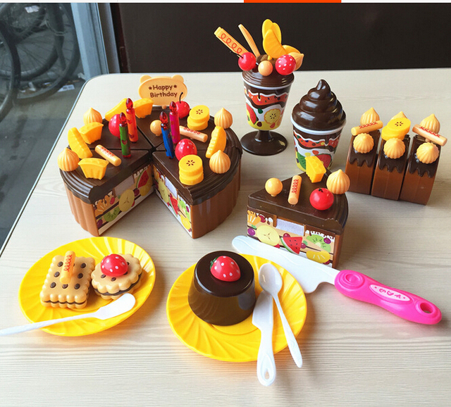 Juguetes para niños Cocina Kids play miniatura alimento comida de ...