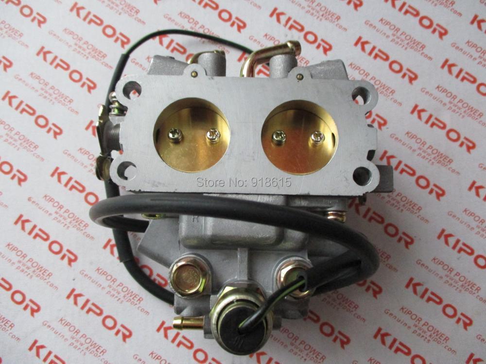 Free shipping original  kipor KGE12E KGE13E KGE12E3 KGE13E3 carb carburetor carburetter generator parts