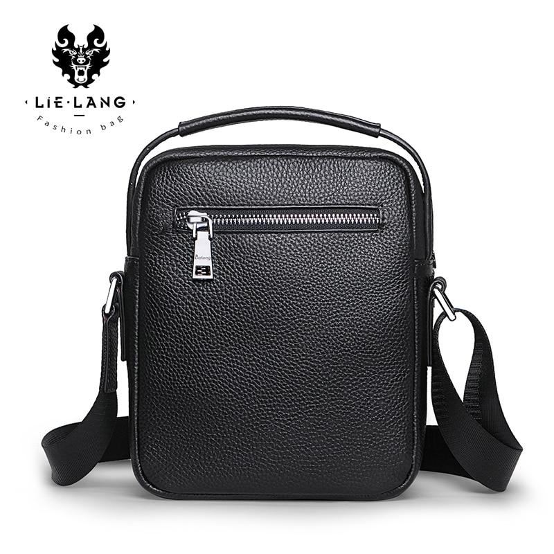 Men Bag Messenger-Bag Leather Shoulder Waterproof Fashion Brand Tide New