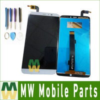 1pc Lot High Quality For PPTV King 7 PP6000 LCD Screen Touch Screen Assembly White Color