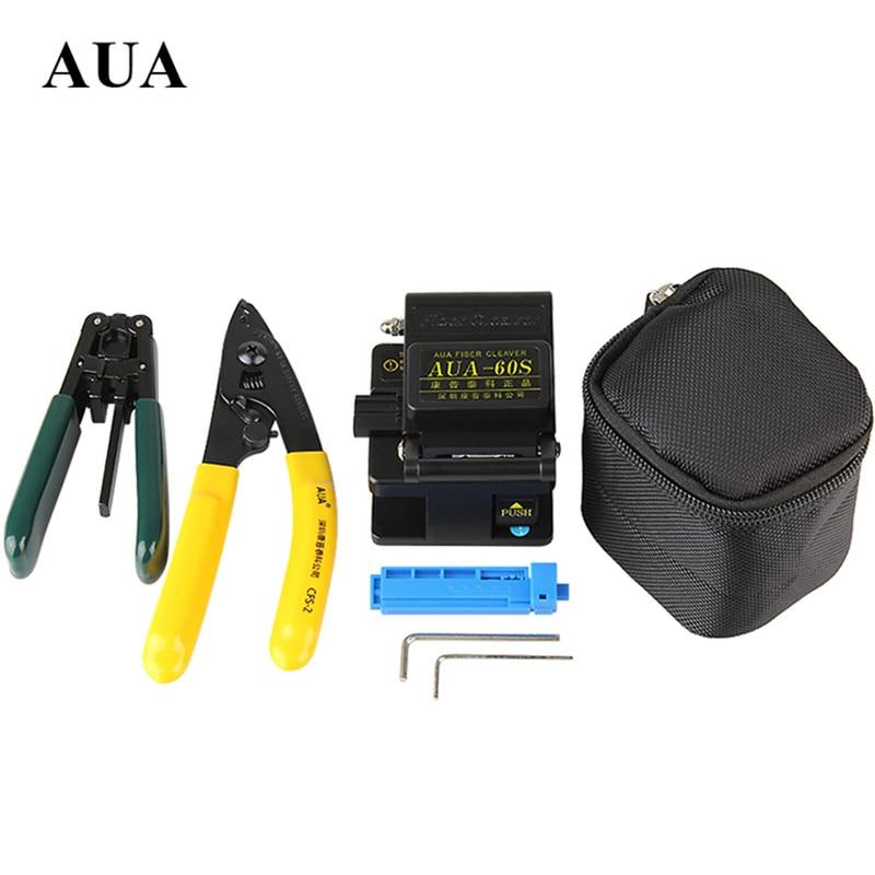 FTTH Fibertool 키트 금속 클리버 AUA-60S + 고정 길이 장치 - 통신 장비 - 사진 1