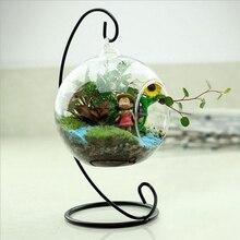 Стеклянная ваза-шар стекло аквариума для рыб бак подвесной цветочный горшок Гидропоника растение ваза домашняя декоративная стеклянная ваза свадебное украшение