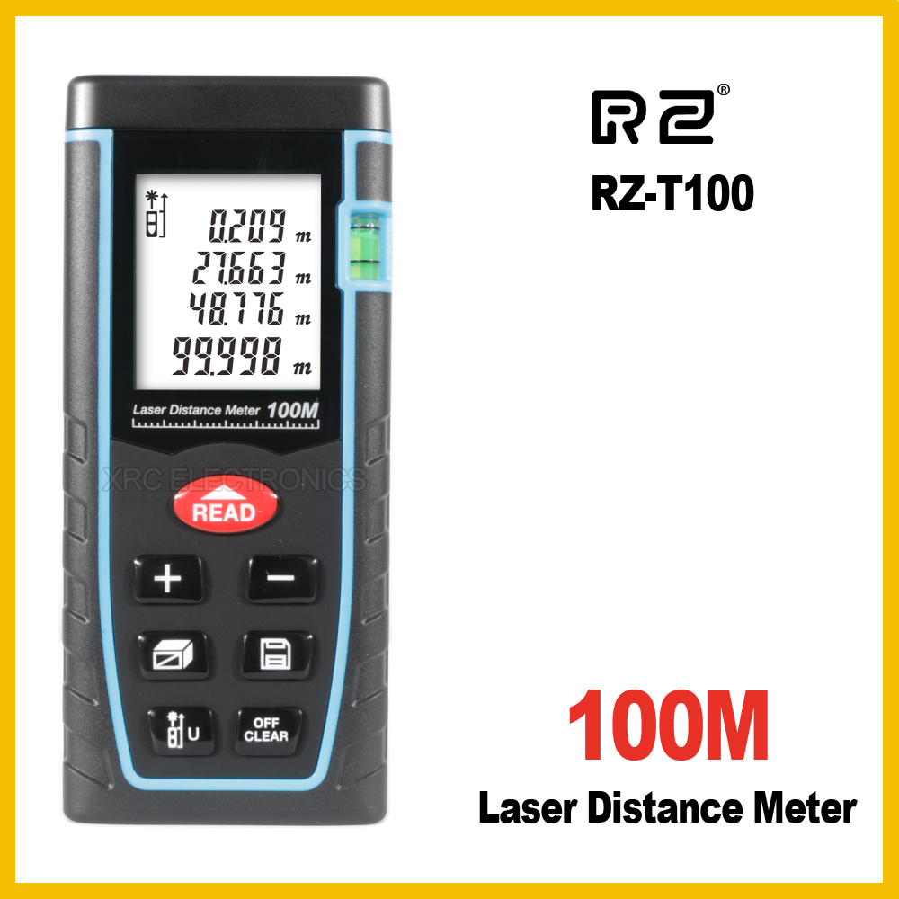 RZ 40 m 60 M 80 m 100 M telémetro láser distancia cinta measure roulette medidor medir la trena telémetro regla electrónica