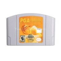 Nintendo N64 Video Game Cartridge Console Card PGA European Tour English Language Version