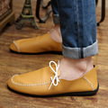 2016 New Spring Autumn Fashion Casual Men Shoes Slip-On Flats Round Toe Solid Massage High Quality Shoes SIZE 39-44 Discount