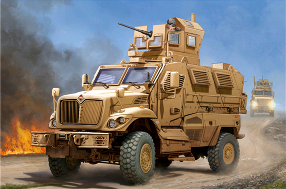 1pcs Action Figures Toy Kids Gifts Toy Collection For Trumpeter 1/16 00931 US Maxxpro MRAP [model] trumpeter ta 3b 02870 1 48 us air warrior attack aircraft
