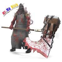 1pcs 20cm Resident Evil Neca Horror Toys Biohazard Executioner Majini Action Toy Figures