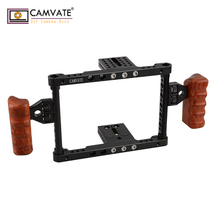 CAMVATE Camera Cage for DSLR 5D Mark III and Mark II C1344 camera photography accessories camvate swat rail clamp
