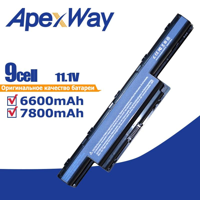 11.1V 9 Cells Battery AS10G31 For AcerAspire New75 5750 5551G 5755G 7560G 7551G 7741G AS10D31 AS10D41 AS10D73 AS10D7E AS10D5E