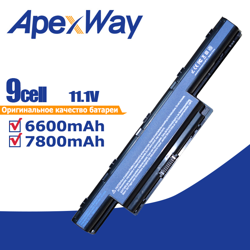 9 Cells Battery AS10G31 For Acer Aspire 5750 5551G  AS10D31 AS10D41 AS10D73 AS10D7E AS10D5E AS10D51 AS10D71 AS10D81 AS10D75