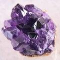 Free Shipping  Beads Natural Stone Purple Amethyst Pendant 1Pcs K1832
