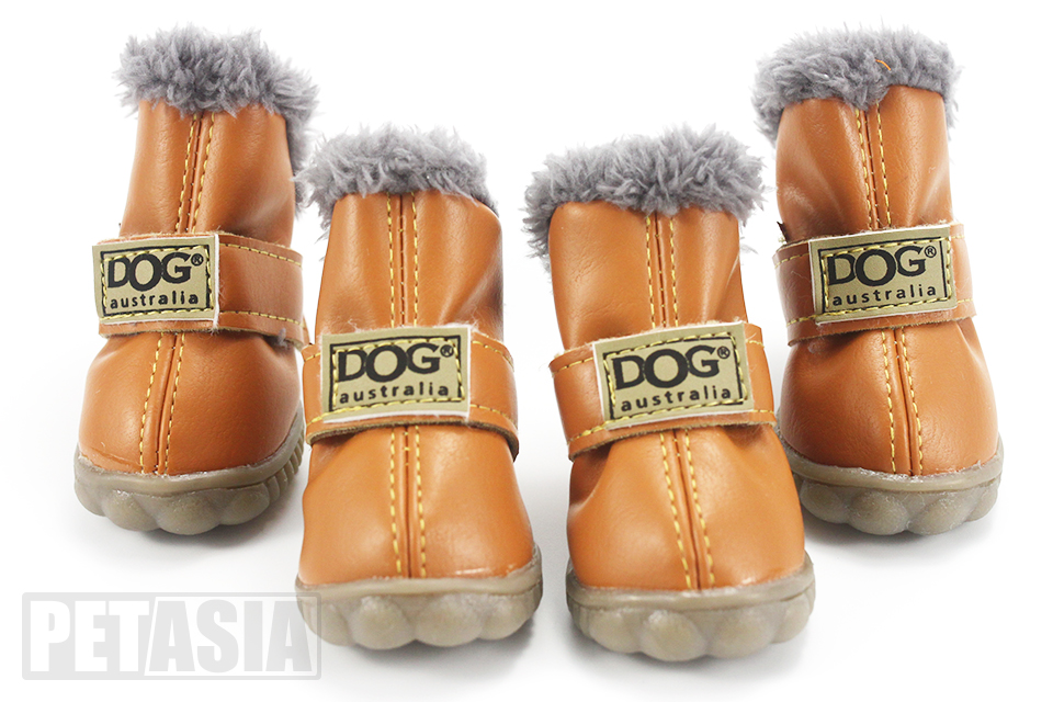 cold weather dog boots