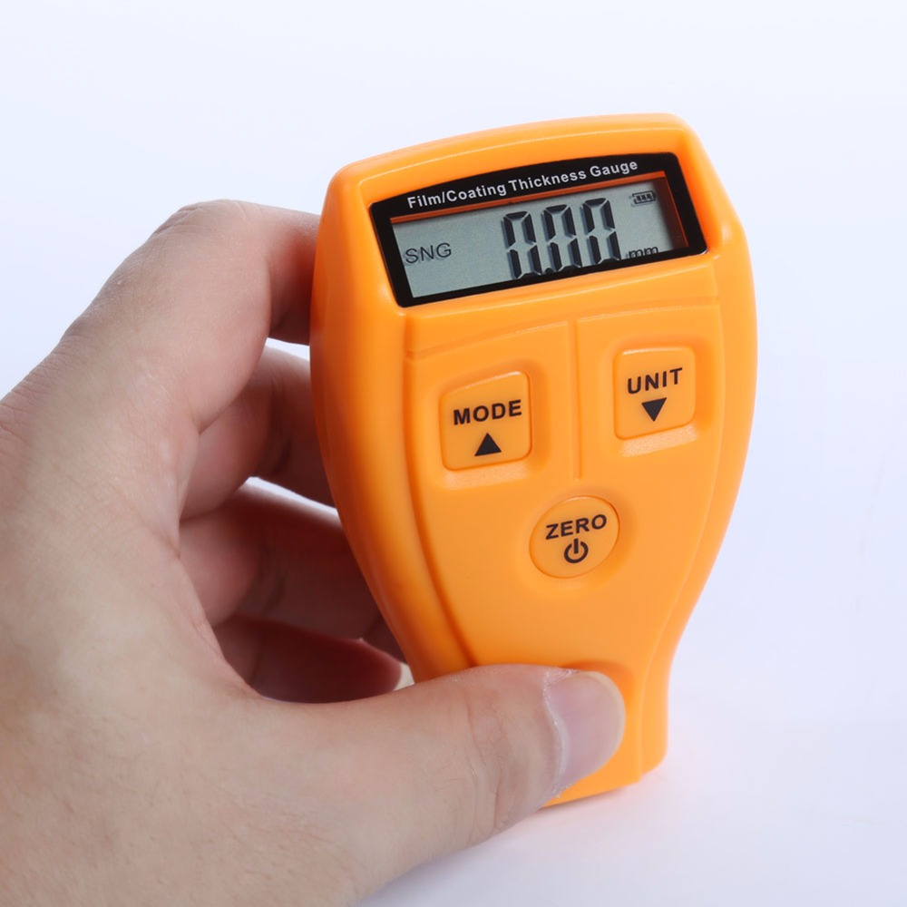 GM200 Ultrasonic Galvanize Painting Coat Film Measure Tester Thickness Gauge for Car Coating Thickness Measure Paint