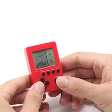 Retro Classic Childhood Tetris Handheld Game Players LCD Electronic Games Toys Game Console Riddle Educational Toys(China)
