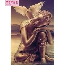 Алмазная живопись yikee Будда полная вышивка распродажа Настенный
