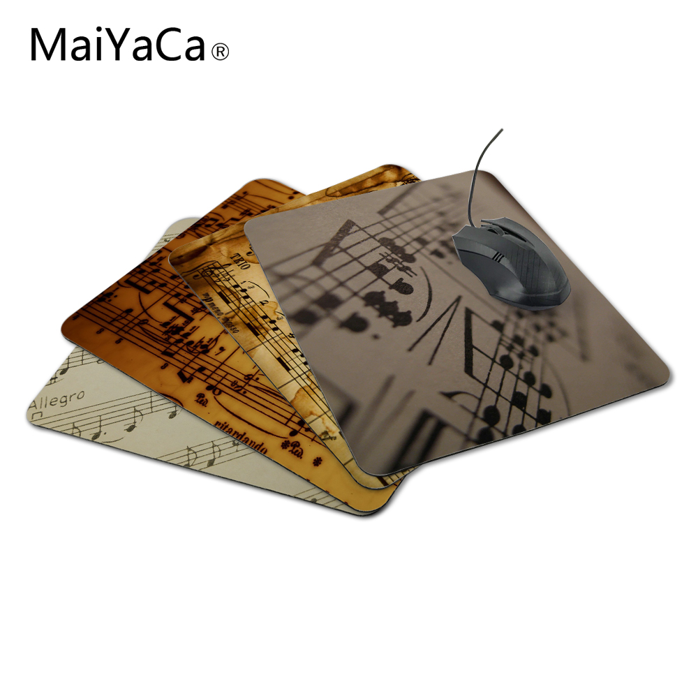 MaiYaCa The best choice for gifts old mus sheet Anti-Slip Laptop PC Me Pad Mat Not Overlock Mouse Pad